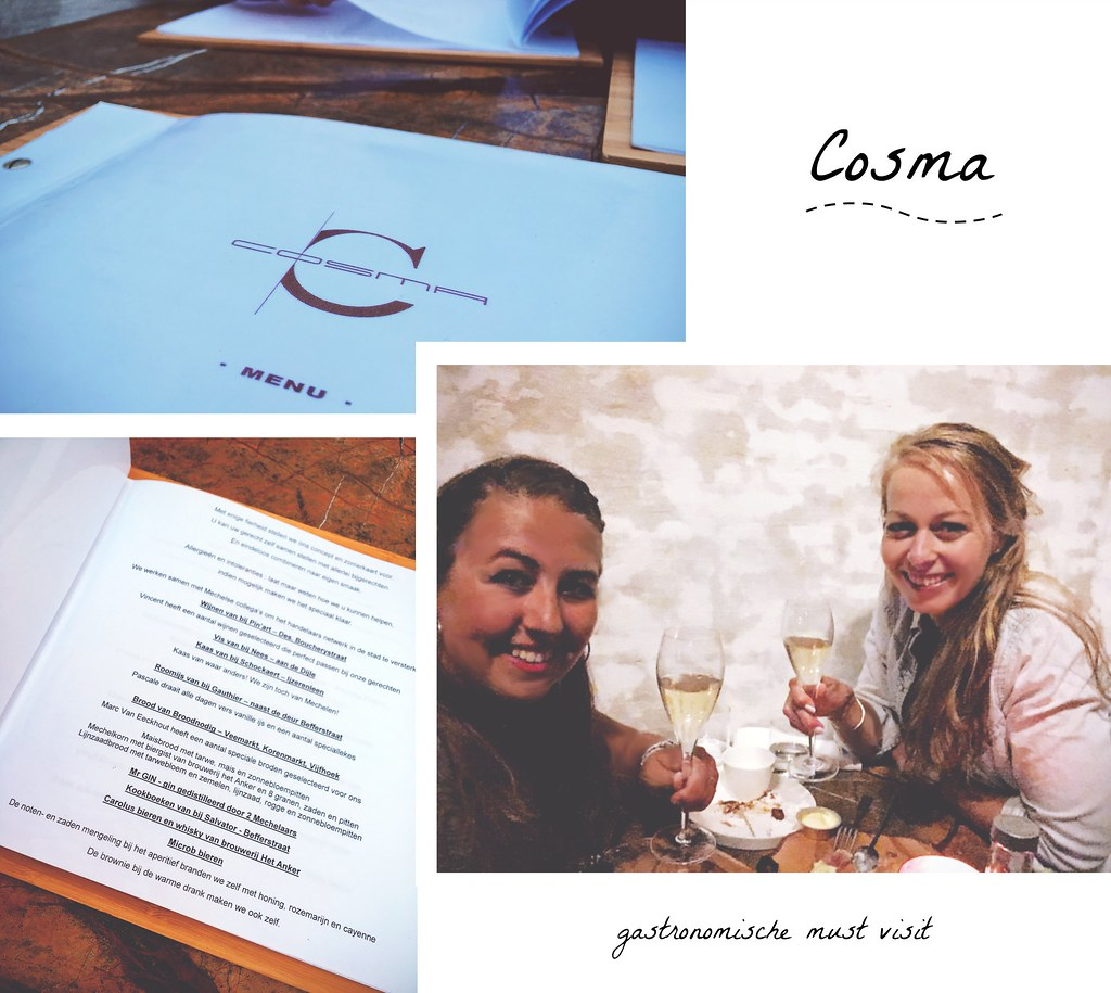 Fine dining @ Cosma restaurant in Mechelen (Belgium) | via It's Travel O'Clock