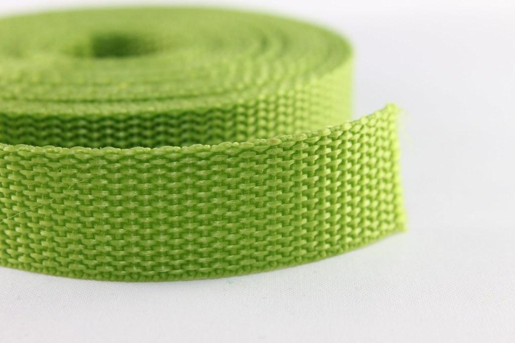 Gurtband 20mm, hellgrün