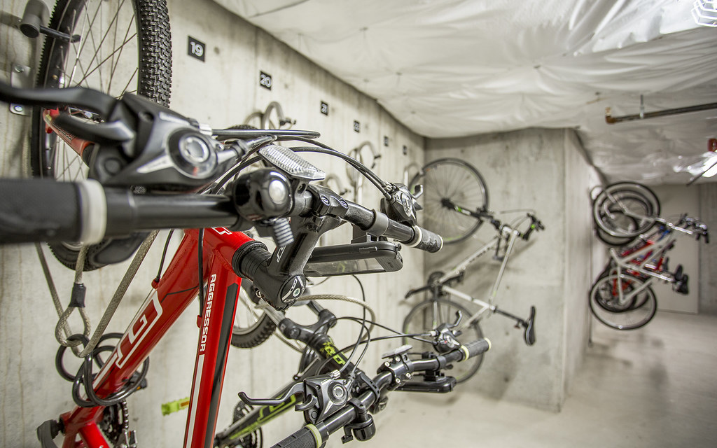 ... ATLAS APARTMENTS ISSAQUAH WA BICYCLE STORAGE 02 | By Go