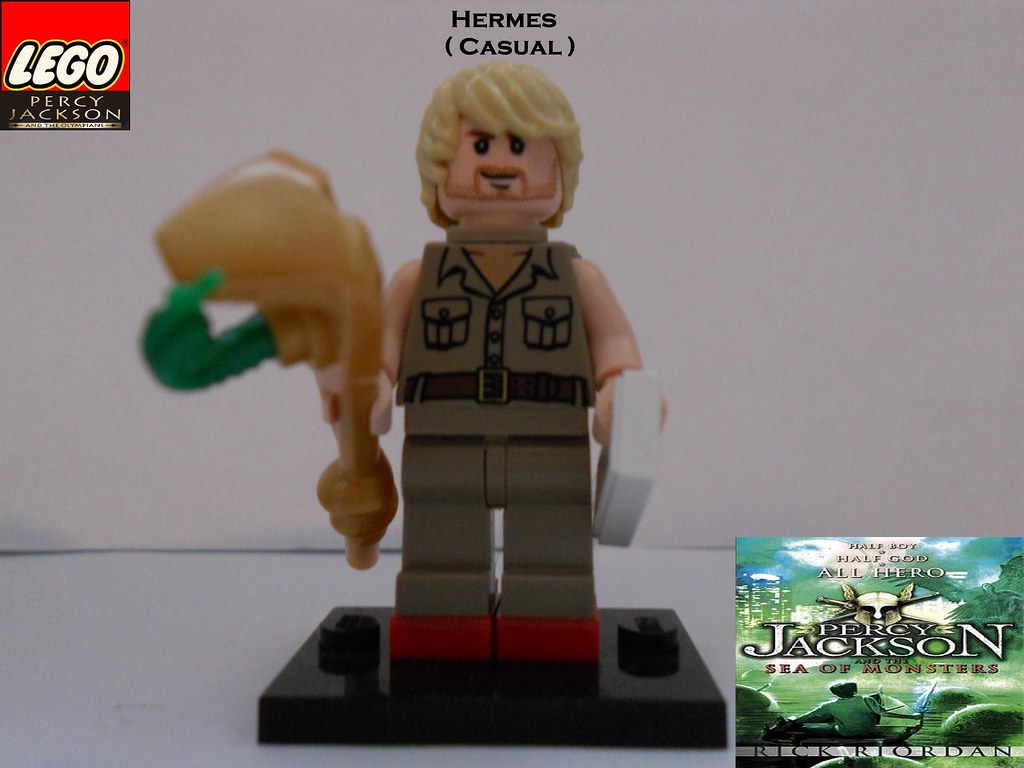 LEGO Hermes (Casual) by BC   LEGO Hermes (Casual) from ...  Lego Percy Jackson Luke