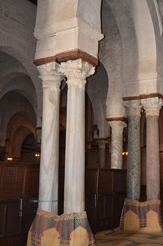 Kairouan, Great Mosque, antique columns in prayer hall (1) | by Prof. Mortel