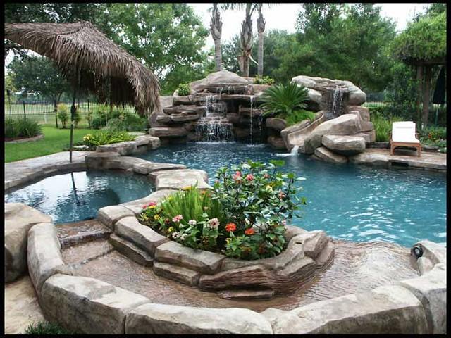 Laguna pools houston tx custom lagoon pool lagoon for Pool design houston tx