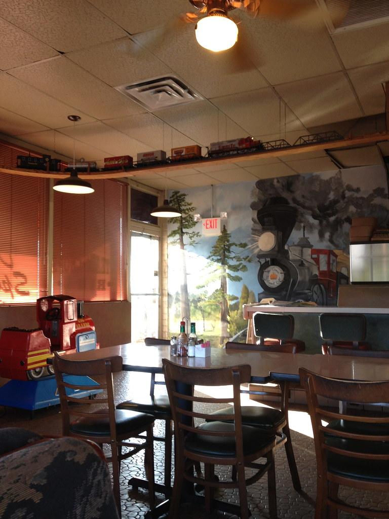 The Railroad Cafe Menu