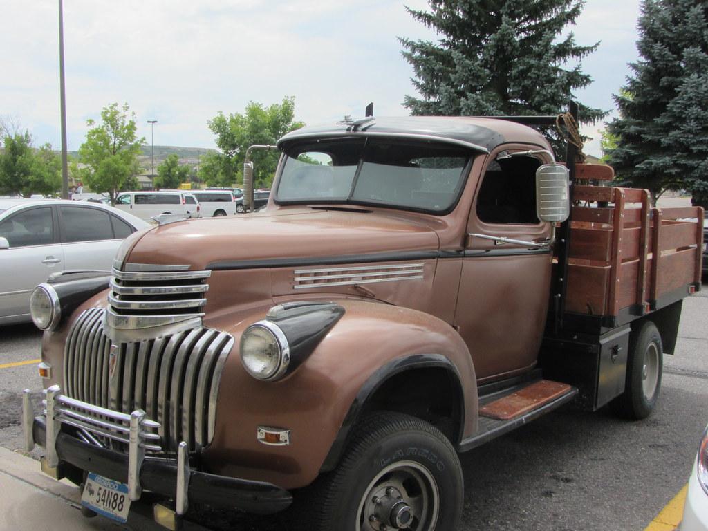 Pickup 41 chevy pickup : 41 Chevy Dump Truck   '41 Chevy Dump Truck - love the sun v…   Flickr