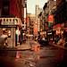 Rainy Afternoon on Pell Street - Chinatown - New York City