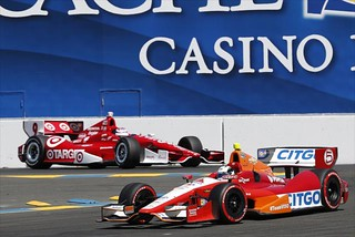 E.J. Viso and Scott Dixon | by IndyCar Series