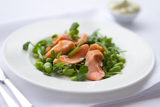 Salmon salad © Royal Opera House Restaurants 2012 | by Royal Opera House Covent Garden