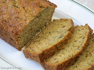 Lemon Rosemary Zucchini Bread | by Farmgirl Susan