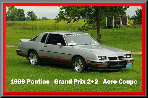 1986 Pontiac Grand Prix 2+2  Aero Coupe | by Roberto41144