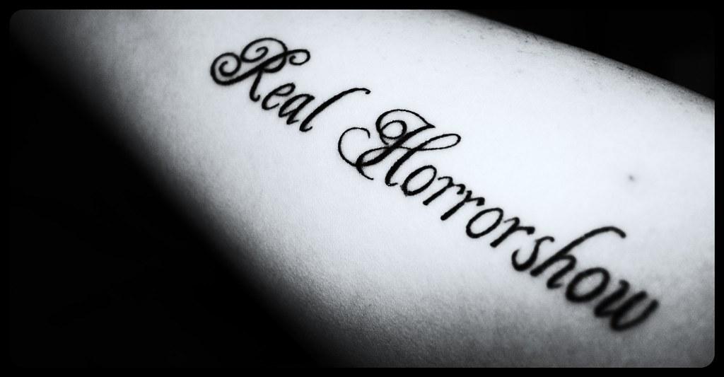 tattoo 2 real horrorshow a clockwork orange quote