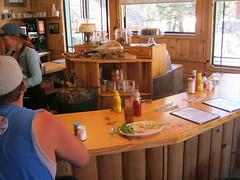 Counter scene - Tioga Pass Restaurant  8-27-2012