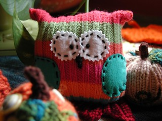 Recycled Sweater Owls | by Buckster's Pics