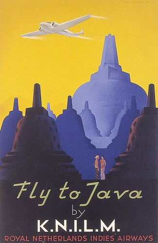 Fly to Java by KNILM. 1938 | by kitchener.lord