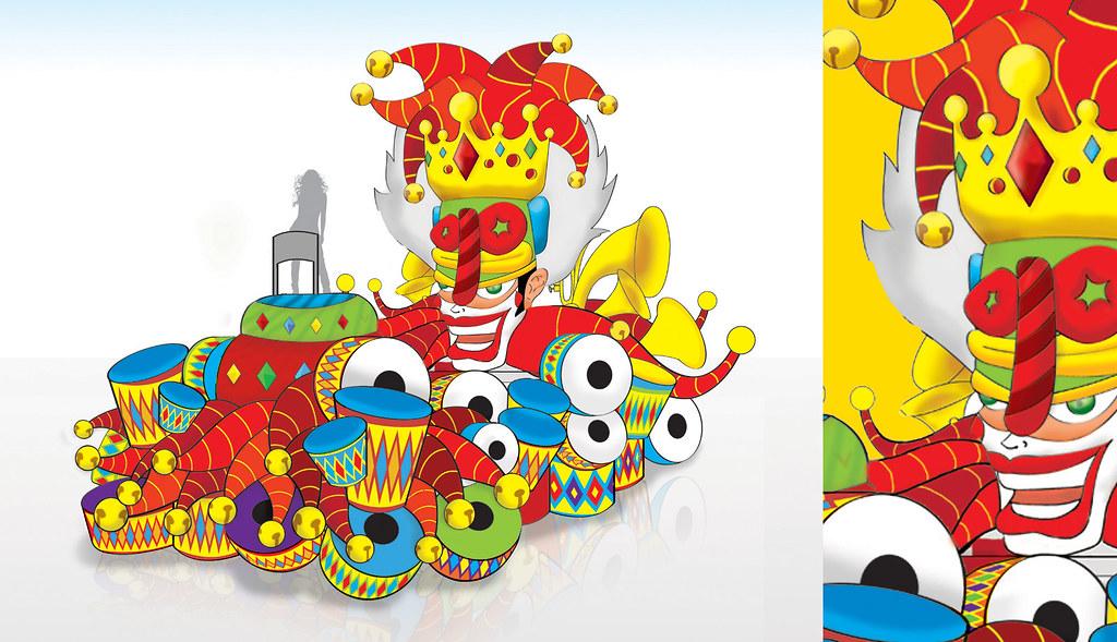 Arlequ n real carroza carnaval de barranquilla 2013 flickr for Decoracion del hogar barranquilla