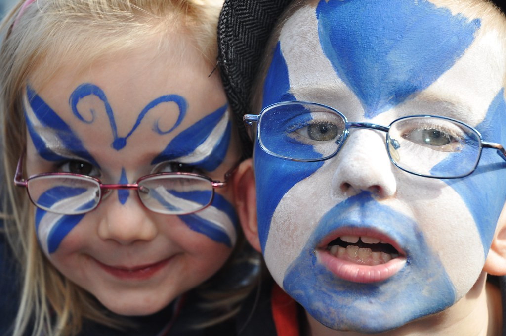 Yes Scotland S First Annual Independence Rally In