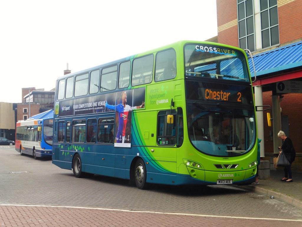 ... Arriva Merseyside 4504 - MX13 AEE  9cf9cc3d0a1