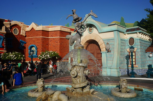 The Roger Rabbit Fountain | by Disney, Indiana