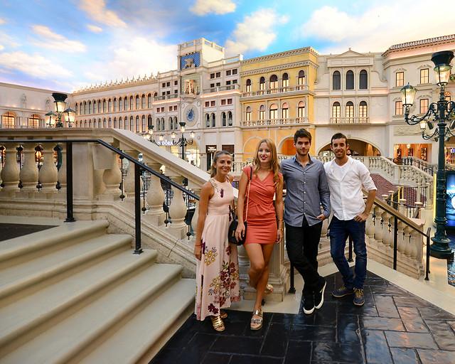 Hotel Venecian en Las Vegas, uno de los lugares más impresionantes que ver en la Costa Oeste de Estados Unidos