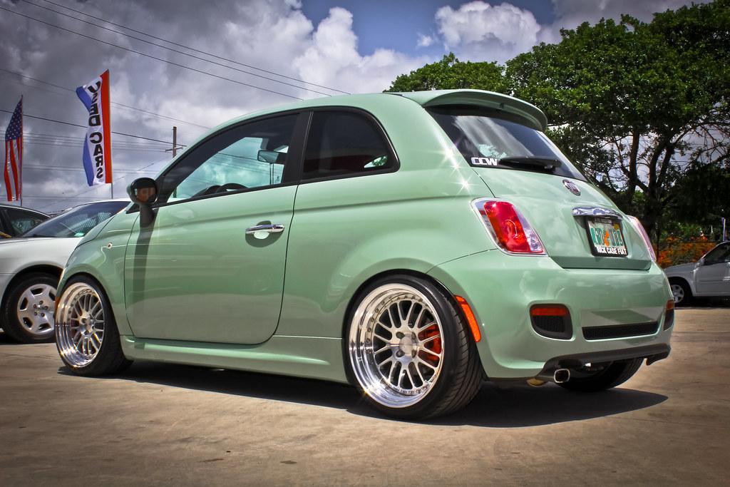 2012 Fiat 500 Ccw Lm16 2012 Fiat 500 Ccw Lm16 17x9