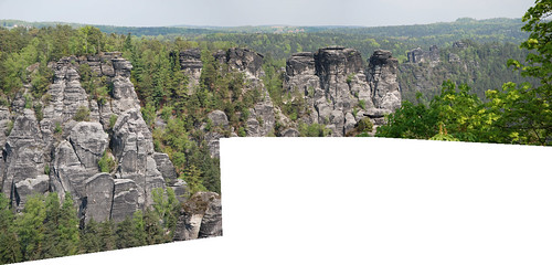 Rock climbing panorama | by quinet