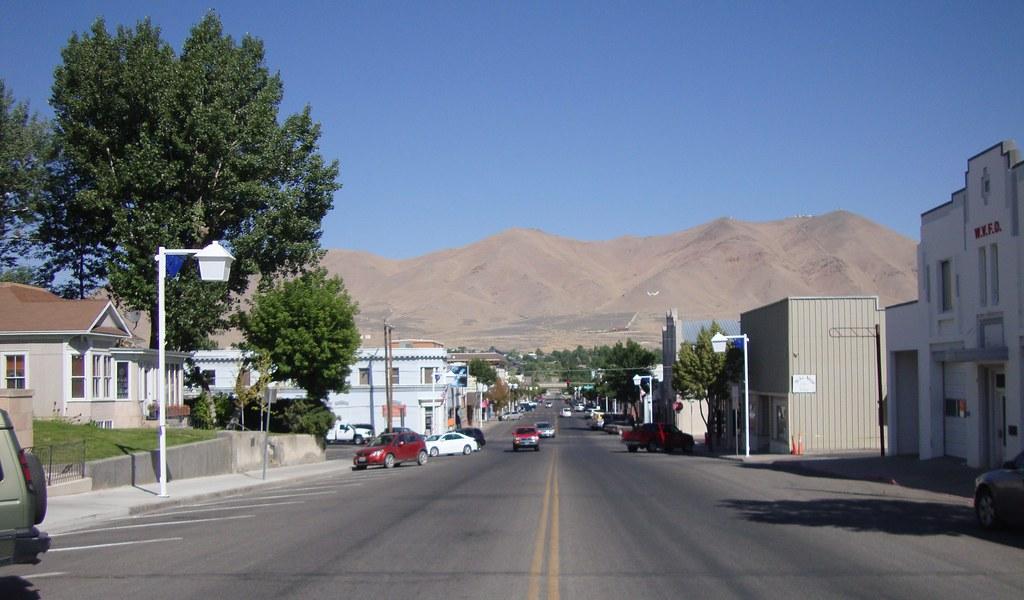 Downtown Winnemucca Nevada Winnemucca Is A Nice Little