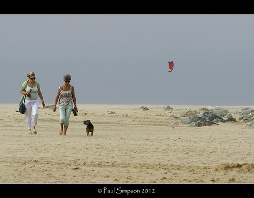 People on the sand | by Paul Simpson Photography