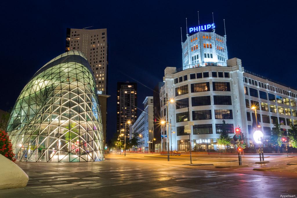 Eindhoven By Night Thomas Van De Vosse Flickr