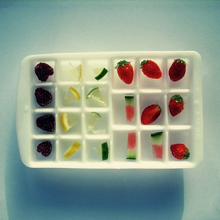 Fruity ice cubes | by Laura Manfre