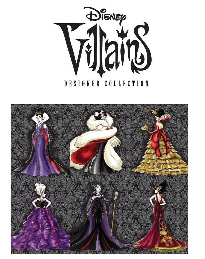disney villains designer collection release announcement