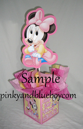 12 inch baby minnie mouse decorations handmade supplies de for Baby minnie mouse decoration ideas