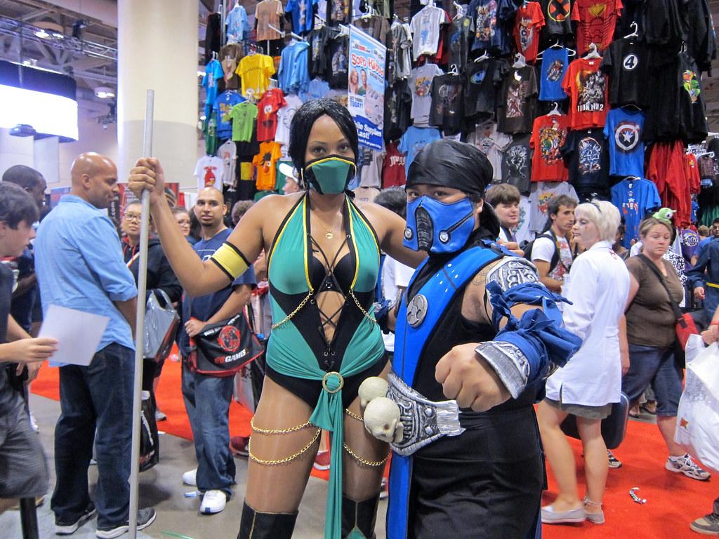 Jade + Sub-Zero | Mortal Kombat | Joanne Wong | Flickr