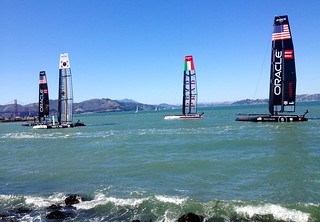 more america's cup boats. and no fog. | by calitexican
