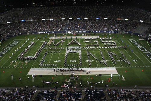 UConn and UMass Bands | by UConn Marching Band