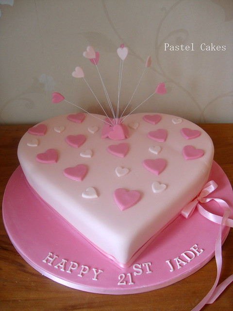 heart shaped birthday cake images