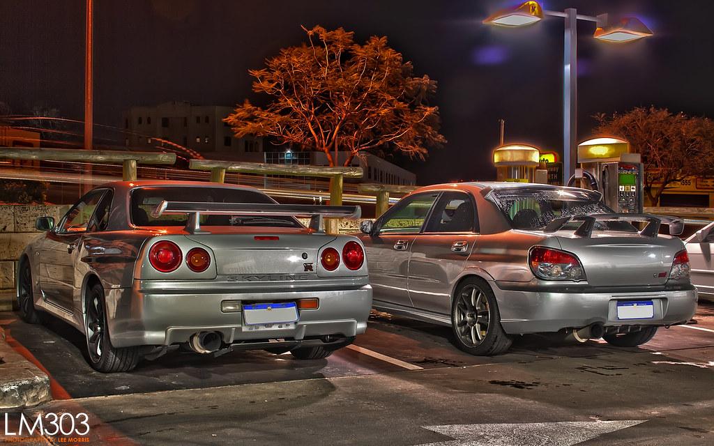 Nissan Skyline R34 Gtr Subaru Wrx Sti Hdr Www