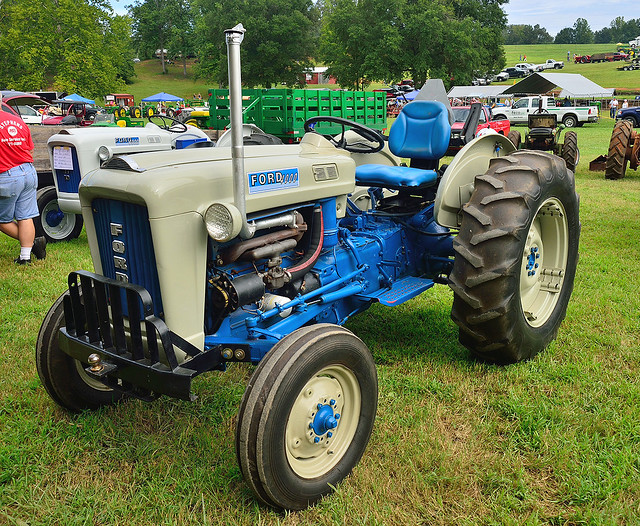 Ford 4000 Tractor : Restored ford tractor flickr photo sharing