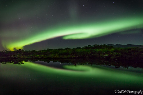 Dance of the spirits - Aurora Borealis Heart !! | by Gulli Vals