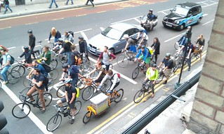 #bikeboom pic negates almost every wonky stereotype about people who ride bikes in London | by carltonreid
