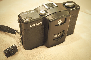 Lomo LC-A and its mini me | by hyteng