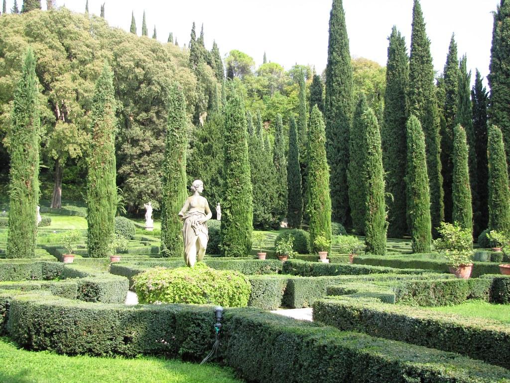 Giardino giusti verona formal italian gardens at for Giardino 3d gratis italiano