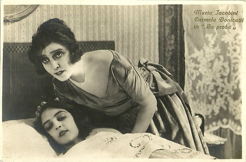 Maria Jacobini in La preda (1921)