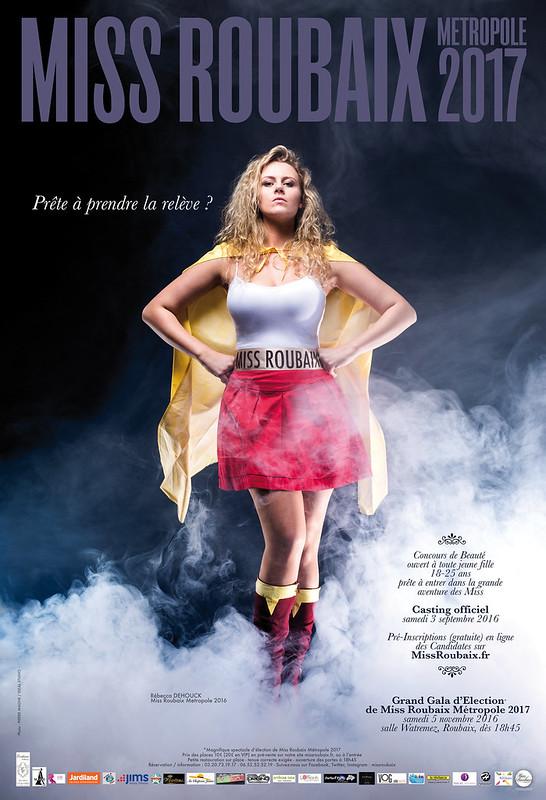 Gala d'élection Miss Roubaix Métropole 2017