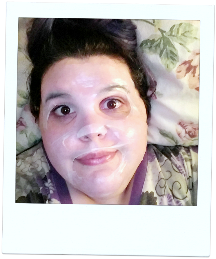 `farmacy brightening mask selfie