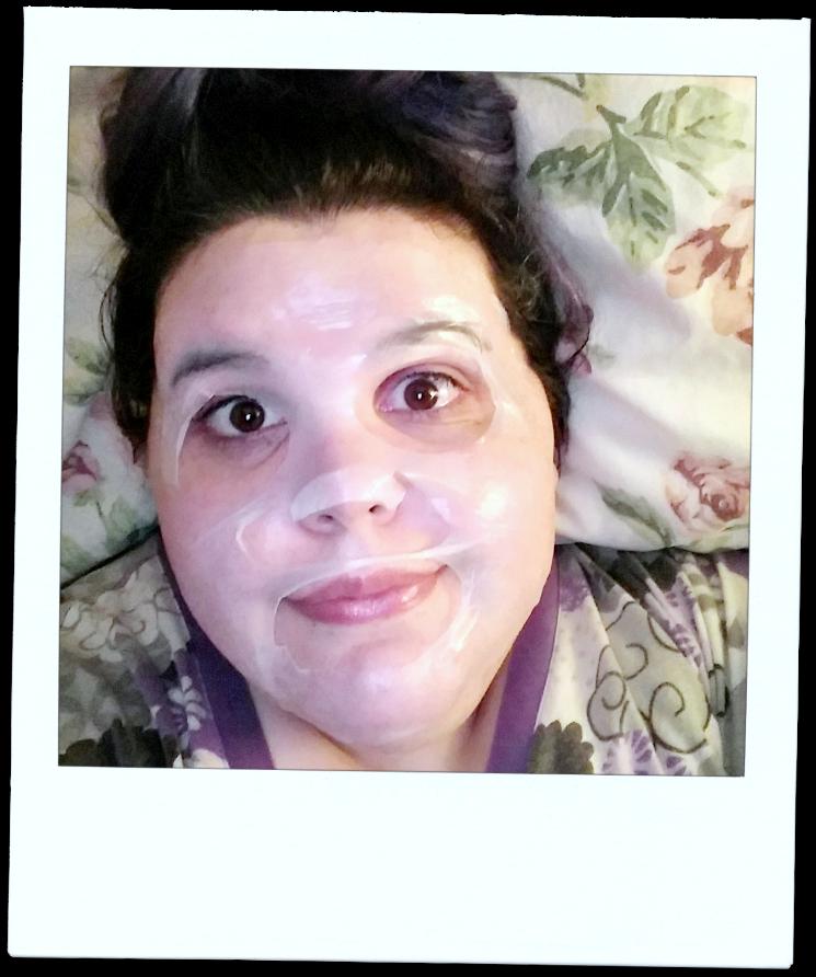 `farmacy brightening mask selfie