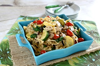 Sauteed Vegetable and Chicken Pasta 001 | by Hungry Housewife