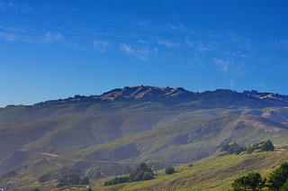 Muir Beach from the look out 4 the hills in the distance | by paspog