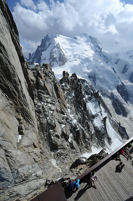 Aiguille du midi chamonix mont blanc flickr photo - Chamonix mont blanc office du tourisme ...