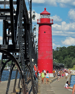 Lighthouse at Grand Haven Pier 2 | by learningtoseeagain