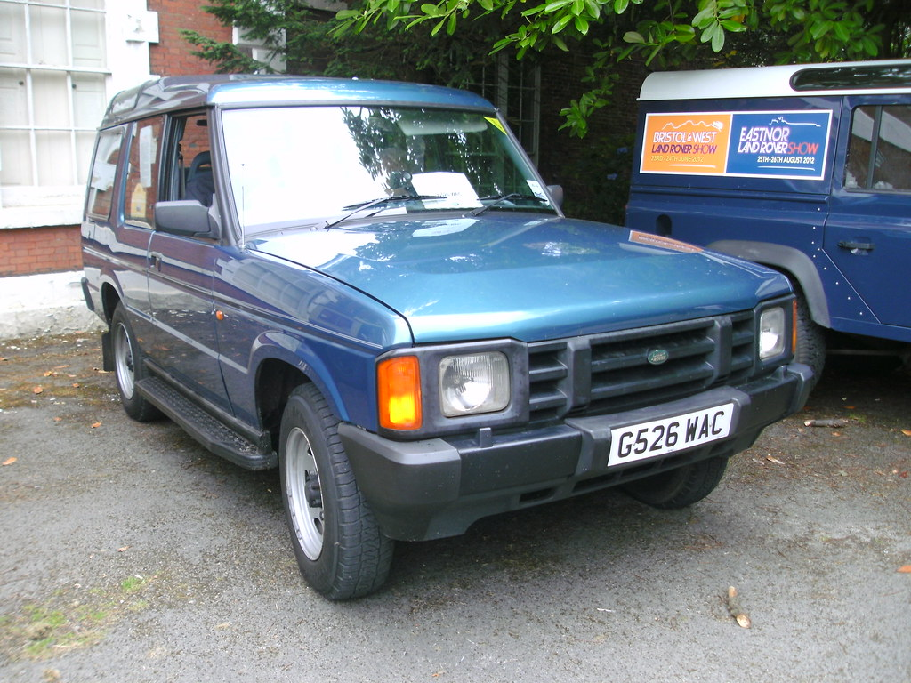 1989 Land Rover Discovery 2 5 Tdi I Initially Walked