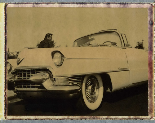 Elvis with his Pink Cadillac | by Nick Leonard